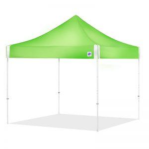 зелена шатра E-Z UP Hi-Viz® 3x3м. с повишено КПД