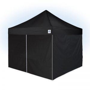 шатра за отдих E-Z UP® Vantage™ 3x3м. черна - плътно затворена с 4 страници