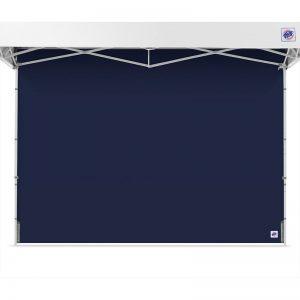 страница за професионална шатра E-Z UP® тъмно синя