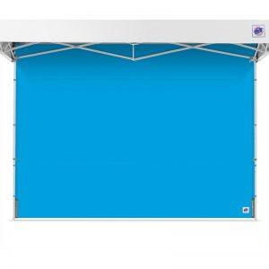 страница за професионална шатра E-Z UP® светло синя