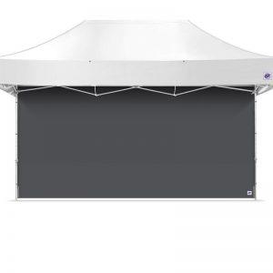 професионална страница за шатра E-Z UP® 6 метра тъмно сива