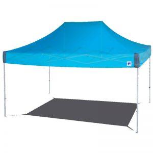 професионална шатра Endeavor 3 x 4.5 метра в синьо с алуминиева рамка