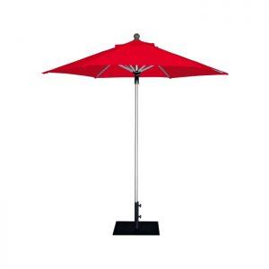 Чадър червен професионален E-Z UP ProUmbrella 2.3м. шестоъгълен без драперия