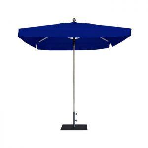 Тъмно син професионален чадър E-Z UP ProUmbrella 2.7м. квадратен с драперия