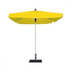 Жълт професионален чадър E-Z UP ProUmbrella 2.1м. квадратен с драперия