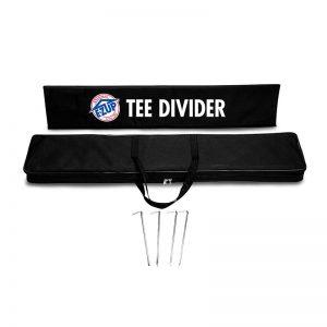 рекламен банер E-Z UP® Tee Divider комплект с чанта и клинове