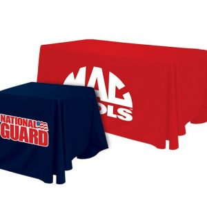 рекламни покривки за маси E-Z UP® Table Throws малък и голям размер