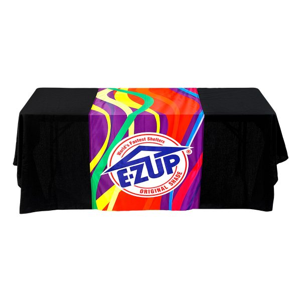 рекламен тишлайфер за маса E-Z UP® Table Runner