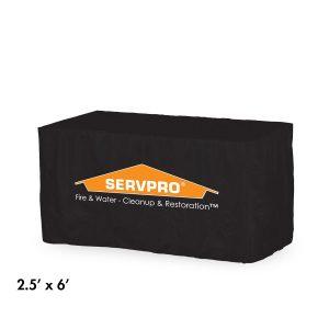 рекламни покривала за маси Vendor Table черно