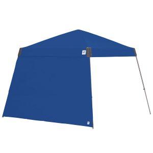 цяла страница за шатри за отдих E-Z UP®3м. с полегати крака - синя