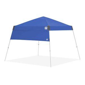 страница за шатри за отдих E-Z UP® с полегати крака - синя