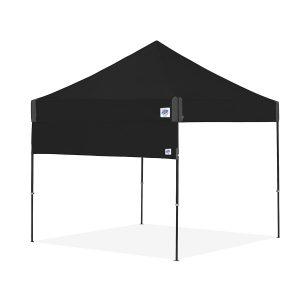страница за шатри за отдих E-Z UP® с прави крака - черна
