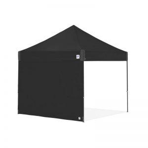 цяла страница за шатри за отдих E-Z UP®3м. с прави крака - черна