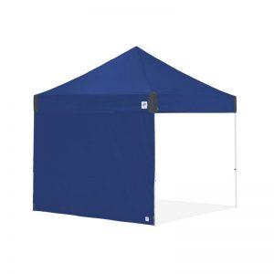 цяла страница за шатри за отдих E-Z UP®3м. с прави крака - синя